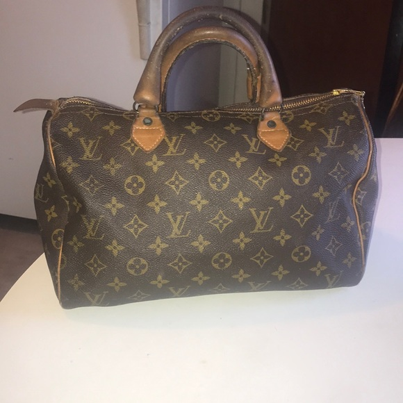 Louis Vuitton Handbags - Louis Vuitton Vintage Speedy 30 Satchel